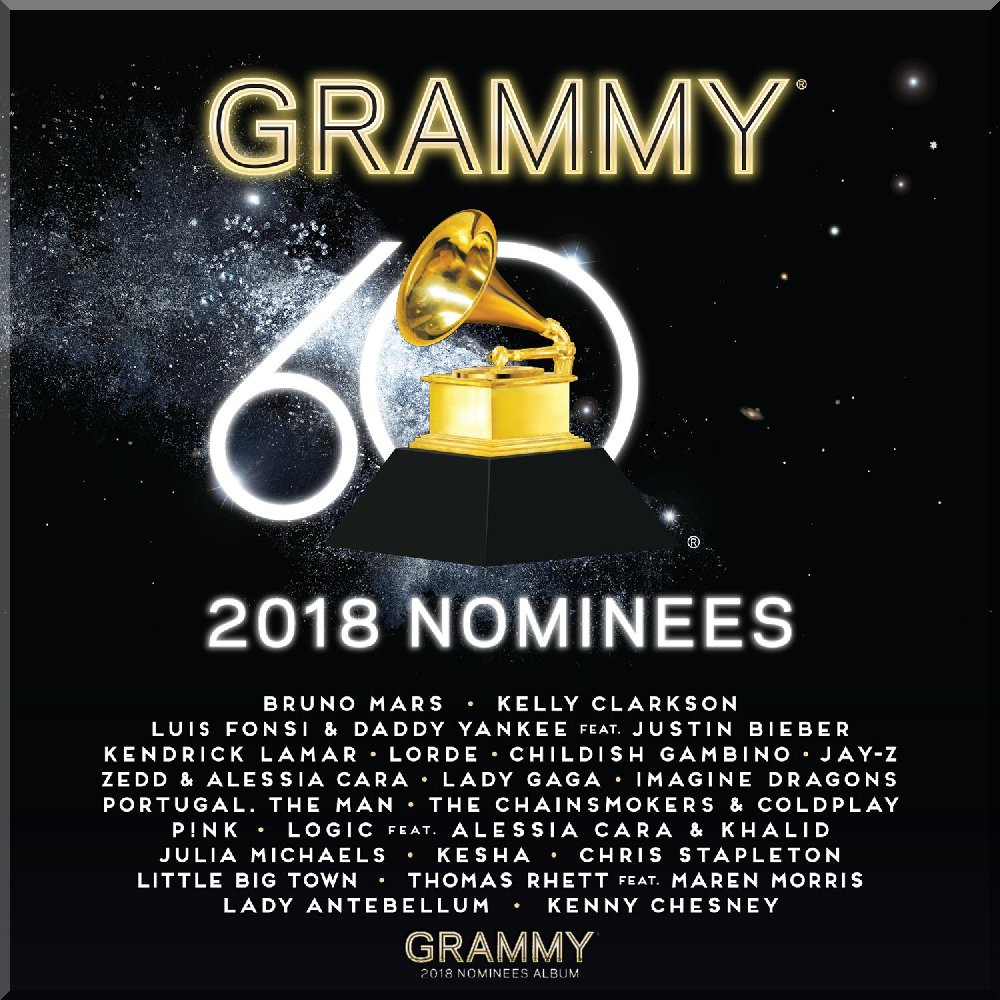 GRAMMY AWARDS 2018 NOMINEES ALBUM AVAILABLE NOW