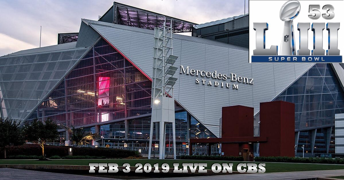 SUPER BOWL 53 Tickets Teams Halftime ATLANTA Hotels Feb 3 630pm ET (1)+1