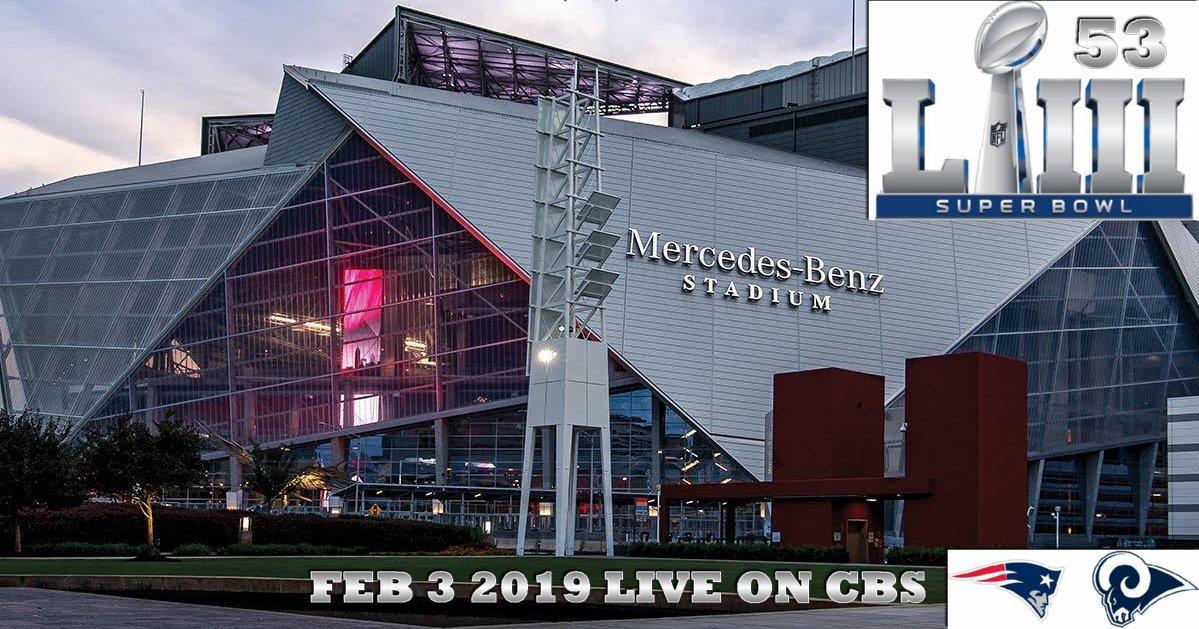 Super Bowl 2019 Tickets Half Time Show Atlanta Feb 3rd Live CBS