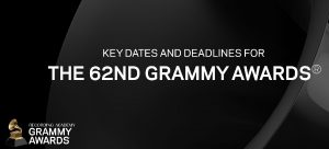 62nd GRAMMY Awards Key Dates And Deadlines