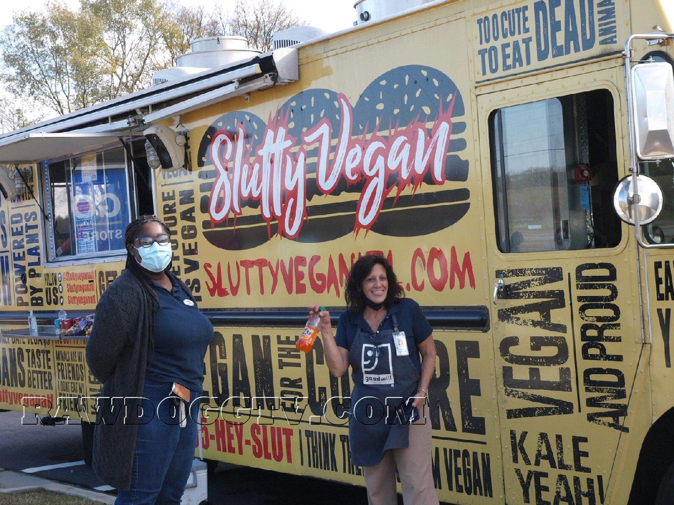 Slutty Vegan Atlanta GOODWILL North GA Popup Photos 2020