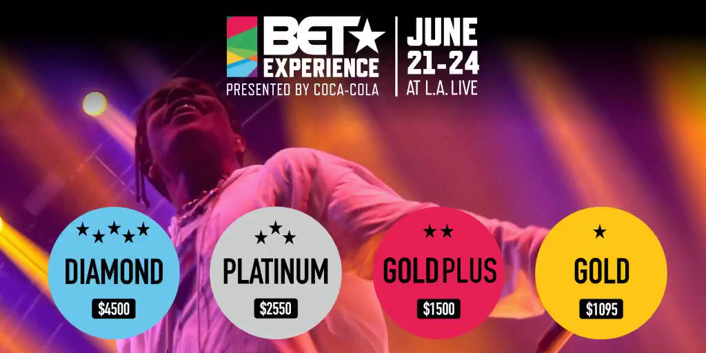 BET Awards Experience Tickets Lineup Dates June 21-24 2018