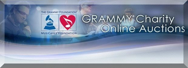 GRAMMY CHARITY ONLINE SIGNED MUSIC MEMORABILIA AUCTION