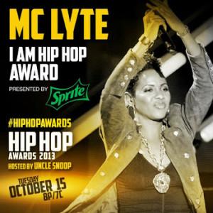 MC LYTE TO RECEIVE THE 'I AM HIP HOP' AWARD