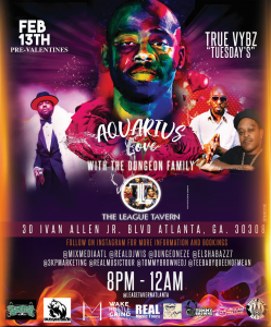 Dungeon Family Aquarius Love BIRTHDAY AFFAIR Photos