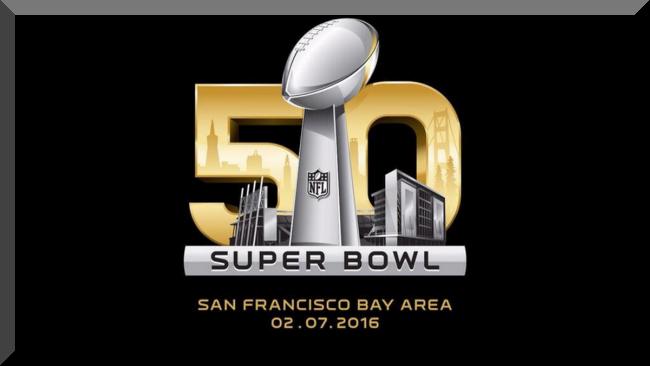 SUPER BOWL 50 TV Game Ad NFL Halftime Show Lineup 2016